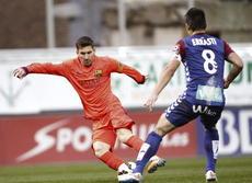 Messi somete al Eibar (0-2)